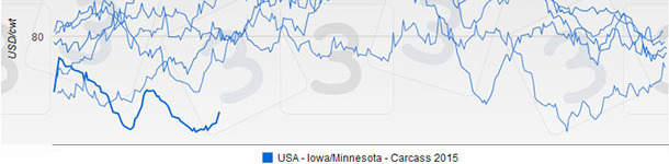 USA - Iowa/Minnesota - Carcass 2015