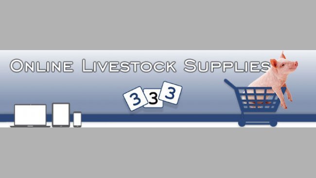 Online livestock supplies store