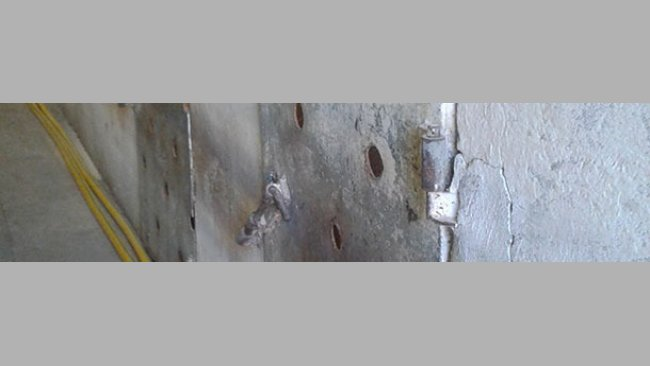 Doors with holes