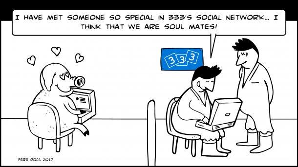 333's social network