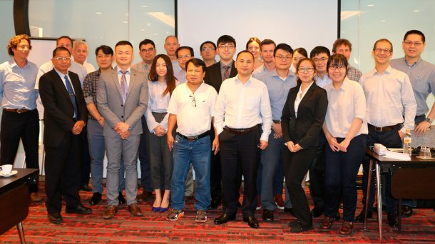 Group picture from the Asian Distributor Meeting