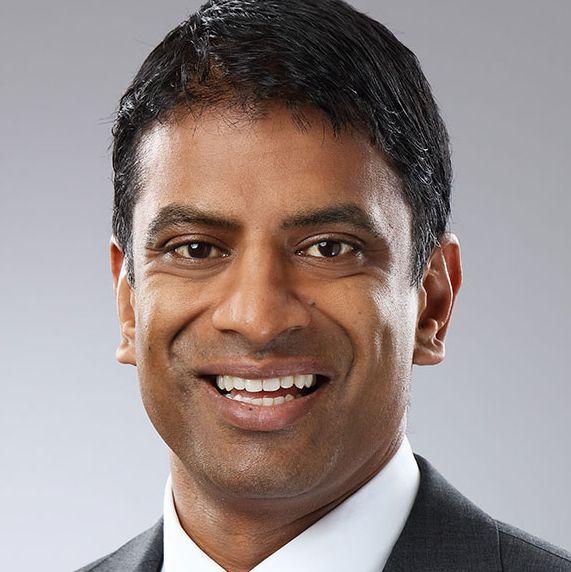 Vasant (Vas) Narasimhan, M.D., Global Head of Drug Development and Chief Medical Officer for Novartis