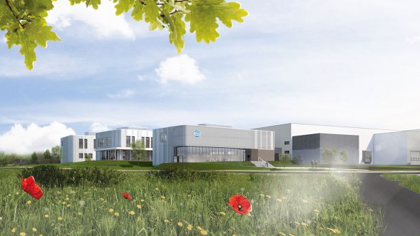 New building project at the Ceva Sogeval Campus