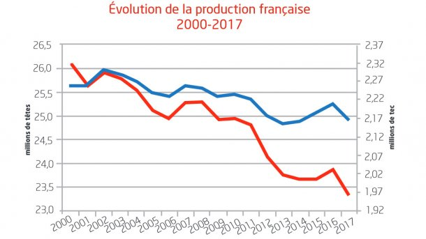 Evolution of pig/pork production
