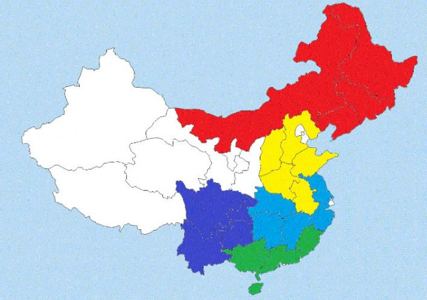China Swine Production Distribution Map