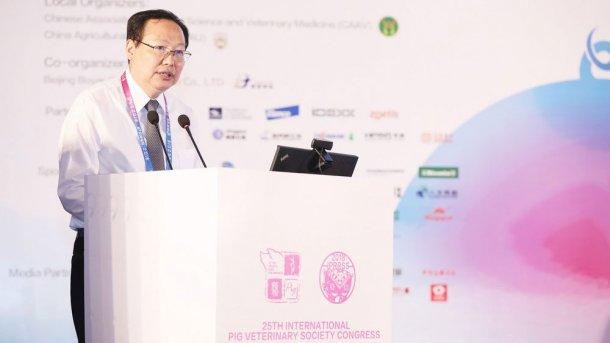 Zhongqiu Zhang, China's Chief Veterinary Officer.