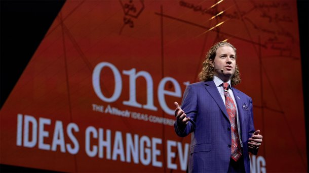 Dr. Mark Lyons, president of Alltech, at ONE: The Alltech Ideas Conference (ONE18) May 20–22 in Lexington, Kentucky, USA.