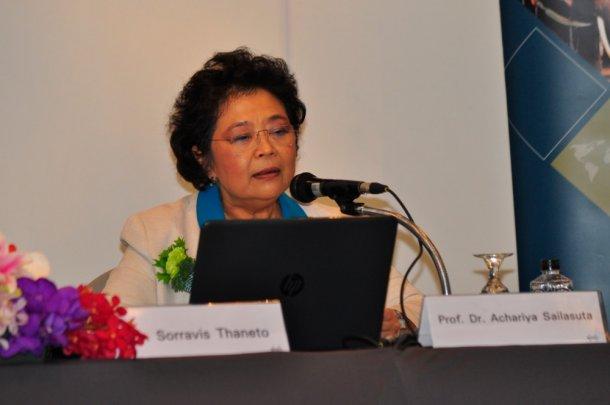 Dr. Achariya Sailasuta, President of TAVLD and Chairman of 19th ISWAVLD 2019