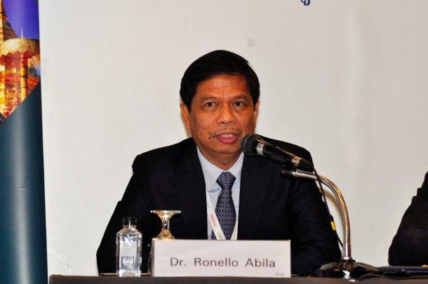 Dr. Ronello Abila, OIE Sub-Regional Representative, World Organization for Animal health, OIE Sub-Regional Representation for South East Asia (OIE SRR-SEA, Bangkok)