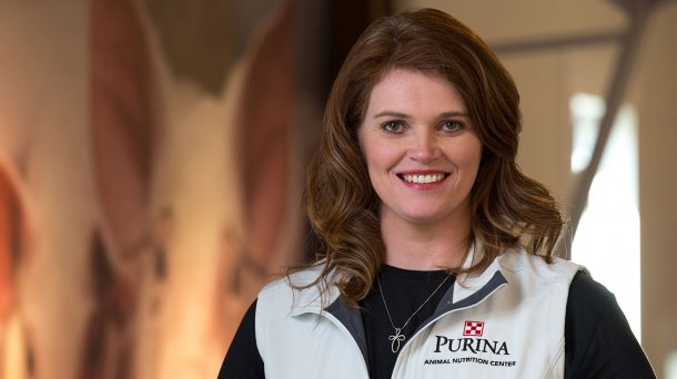Stacie Crowder, lead swine nutritionist at Purina Animal Nutrition