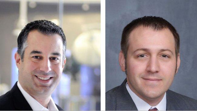 Dr. Joseph Petrosino (left) and Dr. Michael Rossi (right).