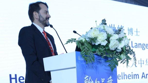 Dr Stephan Lange, Head of The Chinese Markets, Boehringer Ingelheim Animal Health Business Unit