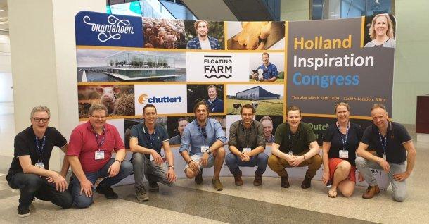 Dutch farmers and team.