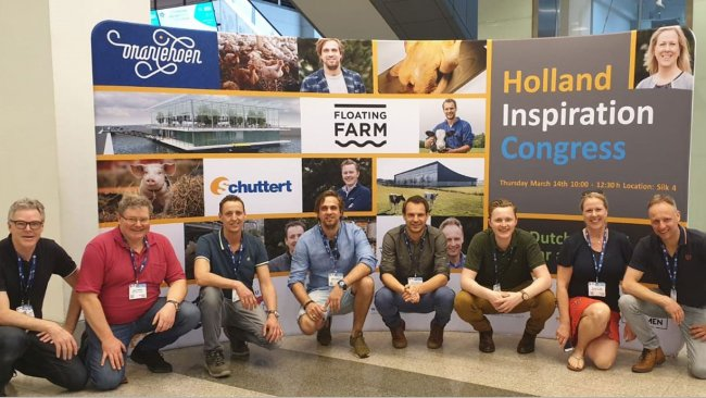 Dutch farmers and team.