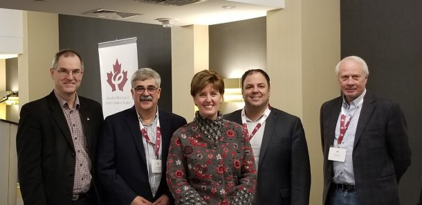 Minister Bibeau attended the Canadian Pork Council's Spring Meeting where she met with producers from across Canada.