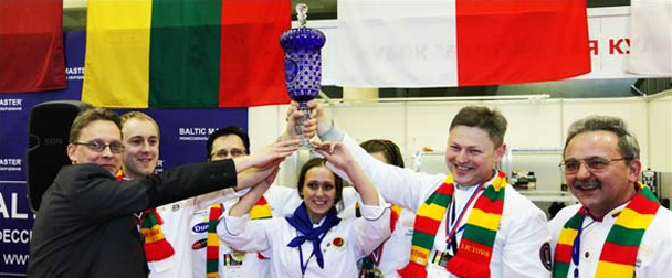 The Baltic Culinary Star Cup was won by the team from Lithuania