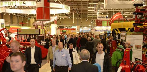 Agromek 2012 showed an increase in visitor statistics compared to Agromek 2010. Last week the Agromek Exhibition attracted 45,248 visitors including 5,127 foreign visitors.