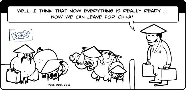 333 en China