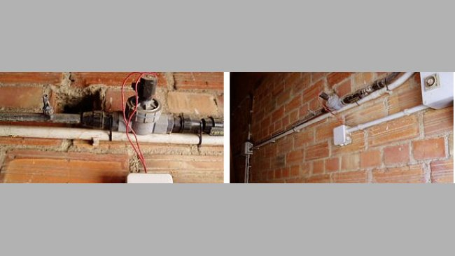 micro-sprinklers for cooling the farrowing rooms