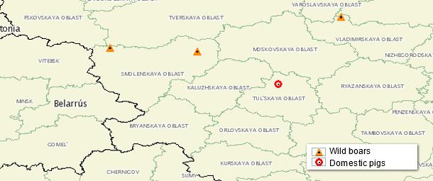 ASF map