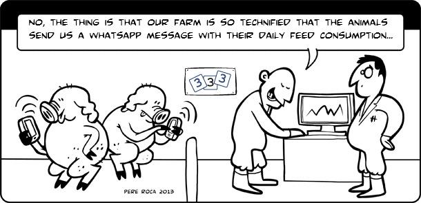 Technification on the farm