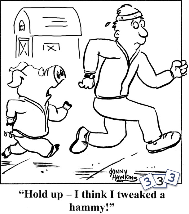 The running pig