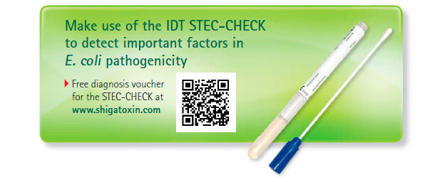 Make use of the IDT STEC-CHECK to detect important factors in E. coli pathogenicity